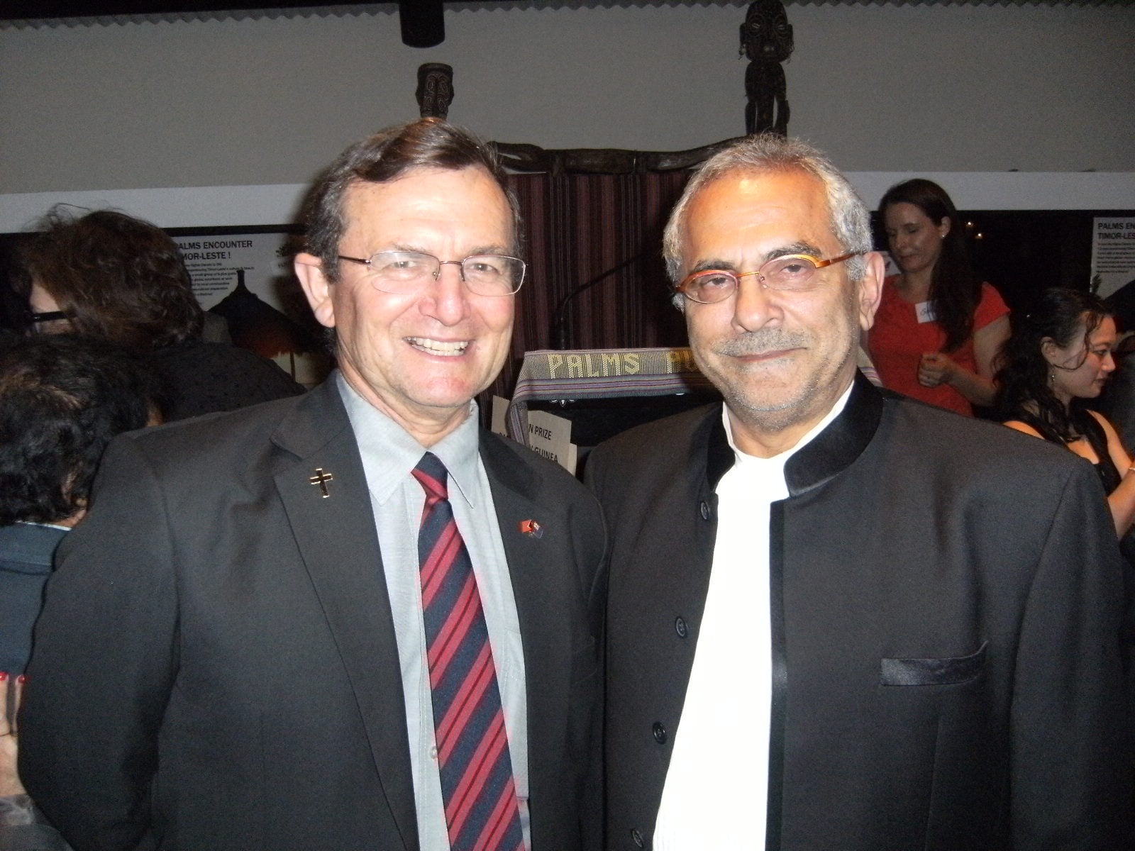 Gary with Former East Timor President Jose Ramos Horta