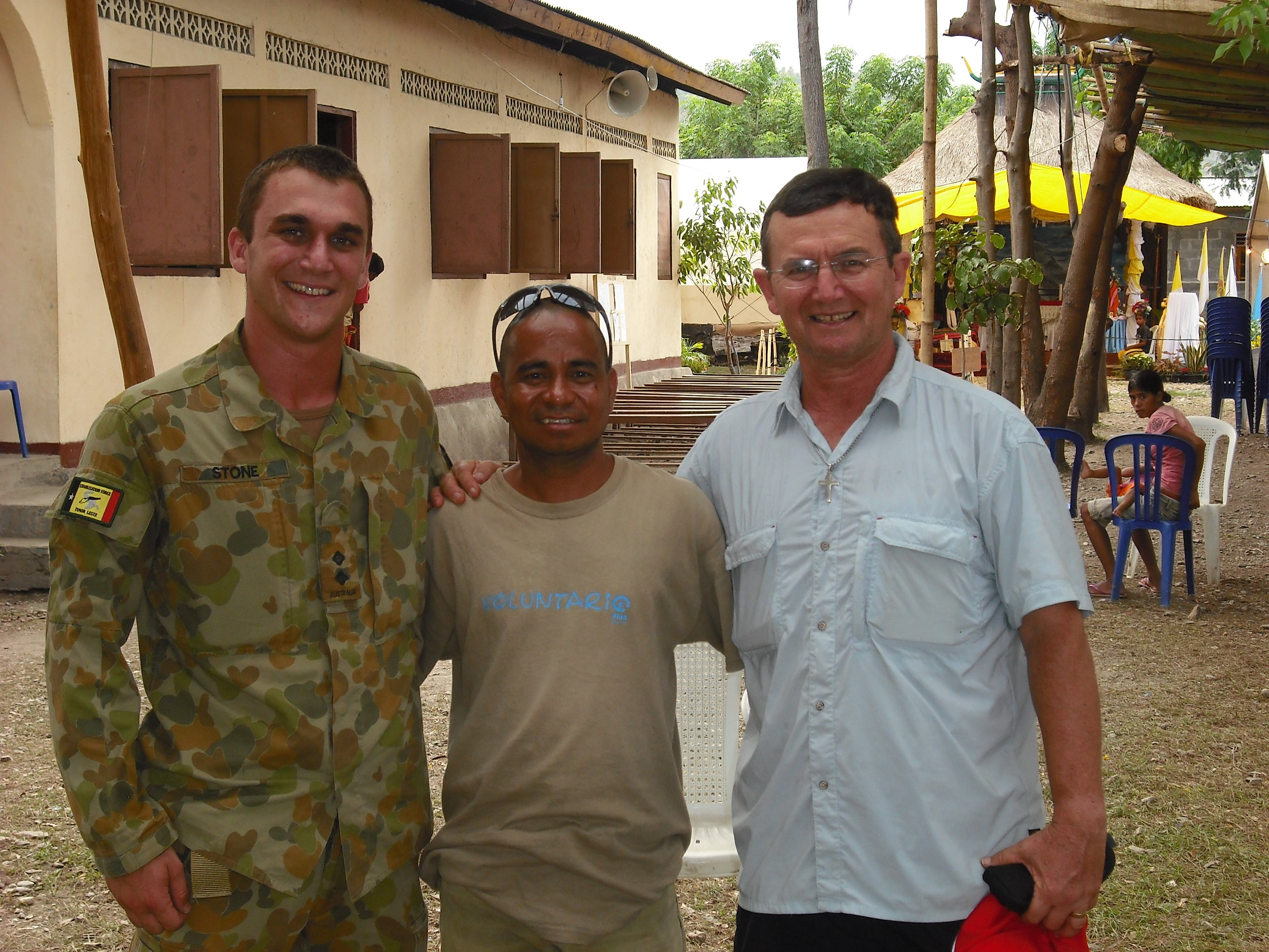 Gary in East Timor