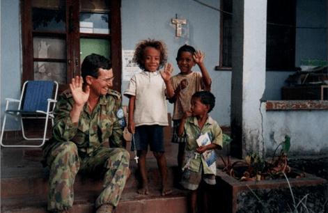Gary in East Timor